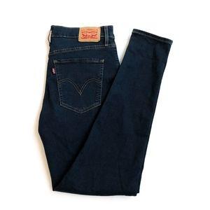 Levi's Mile High Super Skinny Jeans   Dark Wash